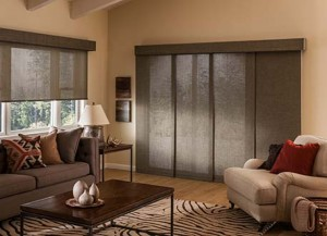 Panel Track for Blinds and Window Treatments